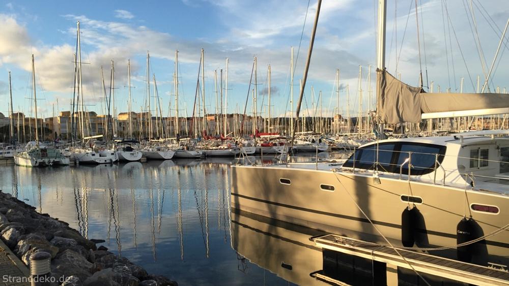 gruissan - Vom Mittelmeer zurück