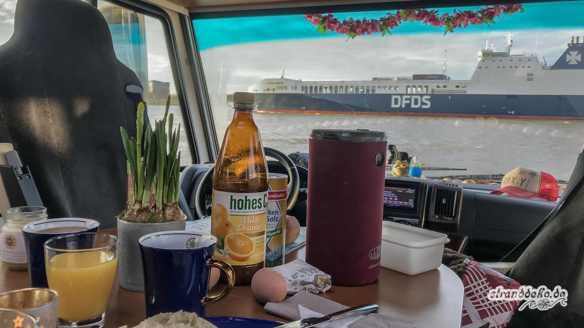 180204 Maassluis HoekvanHolland 002 - Maasluis und Hoek van Holland - 3 Stellplätze zum Schiffe gucken