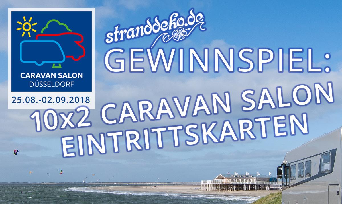 CS Gewinnspiel 2018 - CARAVAN SALON 2018 - Gewinne 10x2 Eintrittskarten