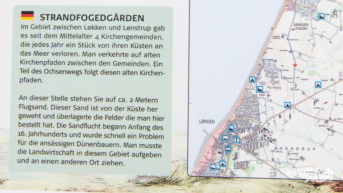 Loekken 489 - Im Norden - DÄNEMARK - Løkken und der versandete Leuchtturm