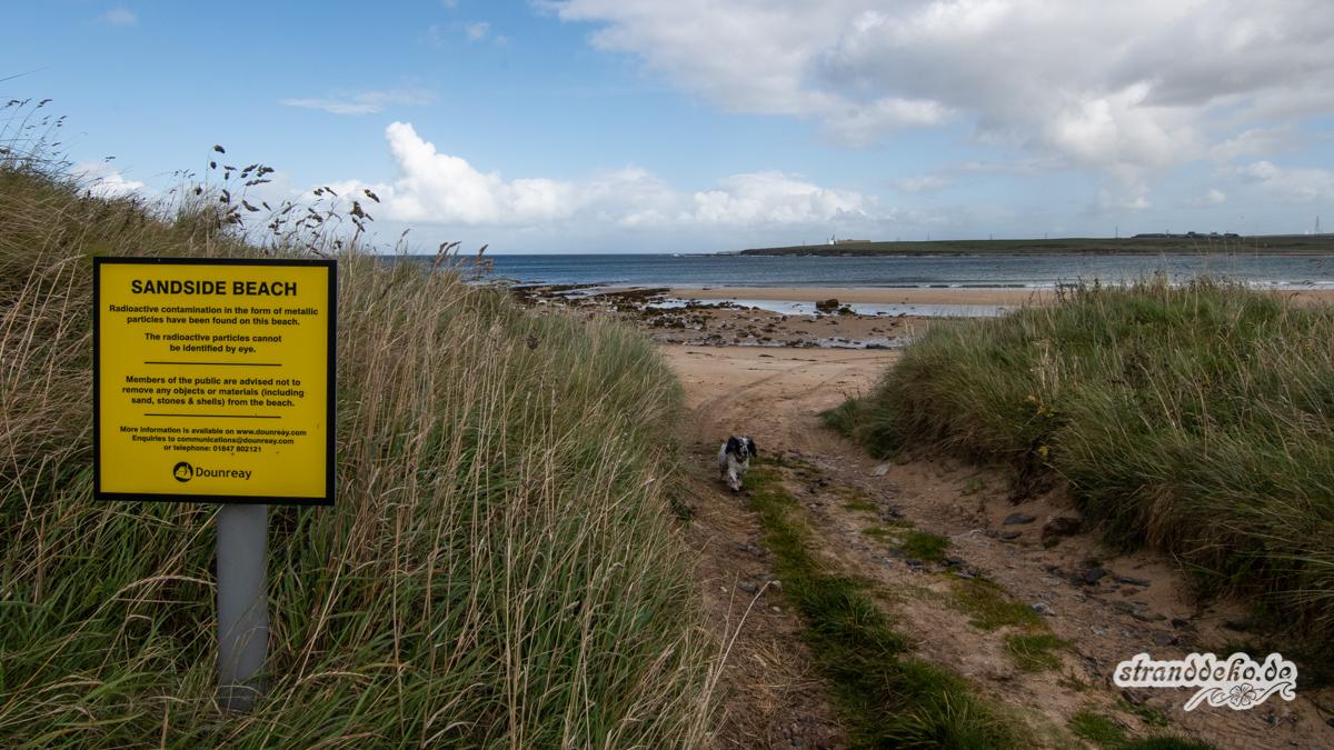Schottland II 437 - Schottland - III - auf Strandsuche - Dunnet Beach, Thurso, Tongue