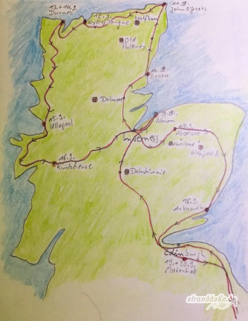 Schottland Karte 3313 790x1024 - Lese-Stoff – Traum-Zeit!