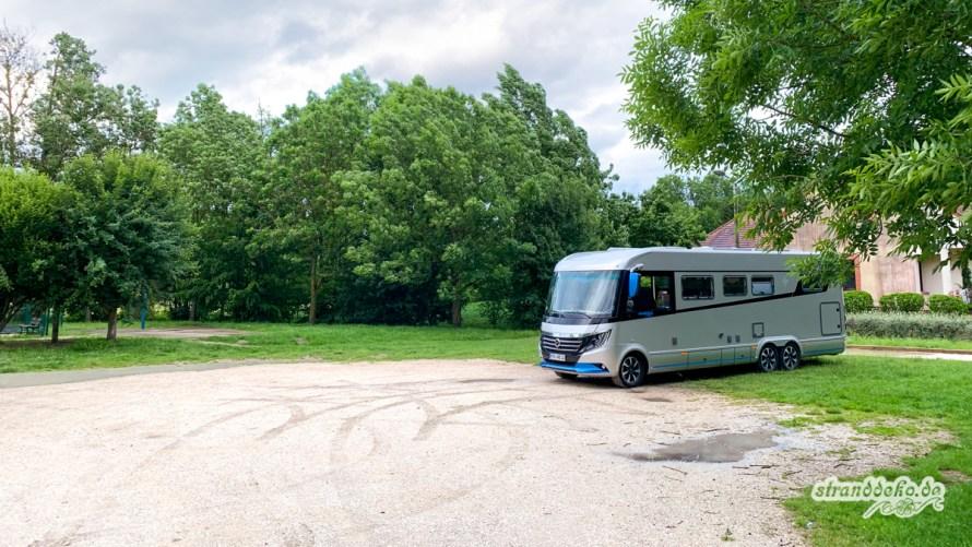01 Saint Cyr sur Morin - Fahr-Zitmit dem Wohnmobil nach Portugal