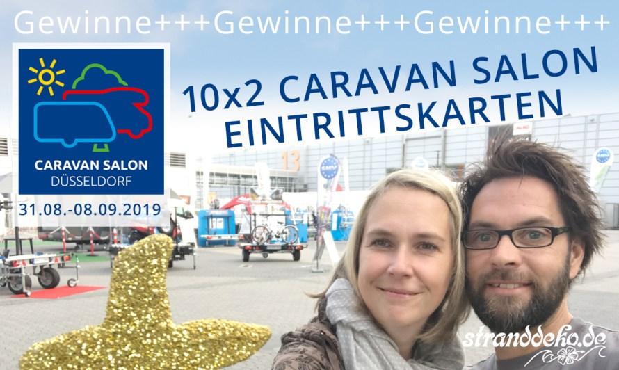 CS Gewinnspiel 2019 - CARAVAN SALON 2019 – Gewinne 10×2 Eintrittskarten