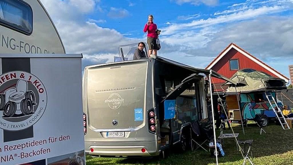 210926 Caravan und Co i 072 1024x576 - Stranddeko bei der Caravan & Co in Rendsburg