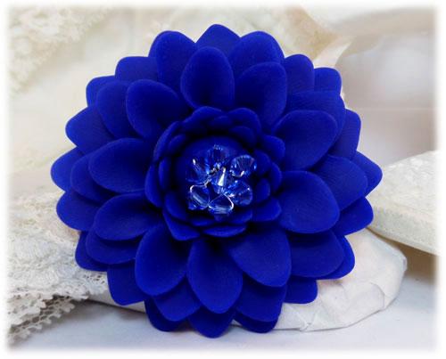 Blue Chrysanthemum Brooch Jewelry