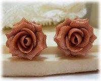 Pink Rose Earrings | Stranded Treasures