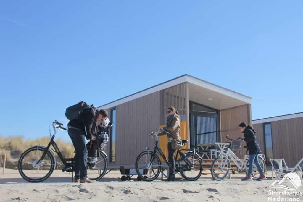 Strandhuisje Kijkduin  Moderne nieuwe huisjes aan zee