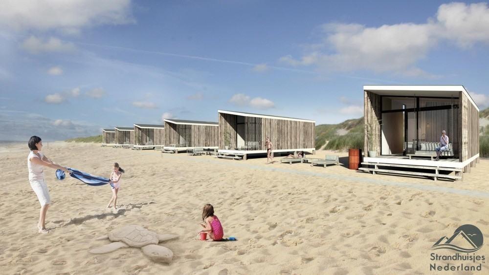 NIEUW Strandhuisje Kijkduin 20 huisjes aan zee Reserveer