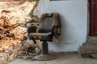 Godt benyttet stol