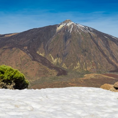 Best view for the Pico del Teide
