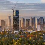 Vom Goetheturm aus, ein Blick auf die Skyline