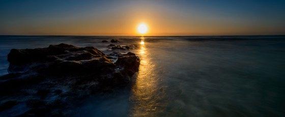 Sonnenaufgang am Playa de Esquinzo
