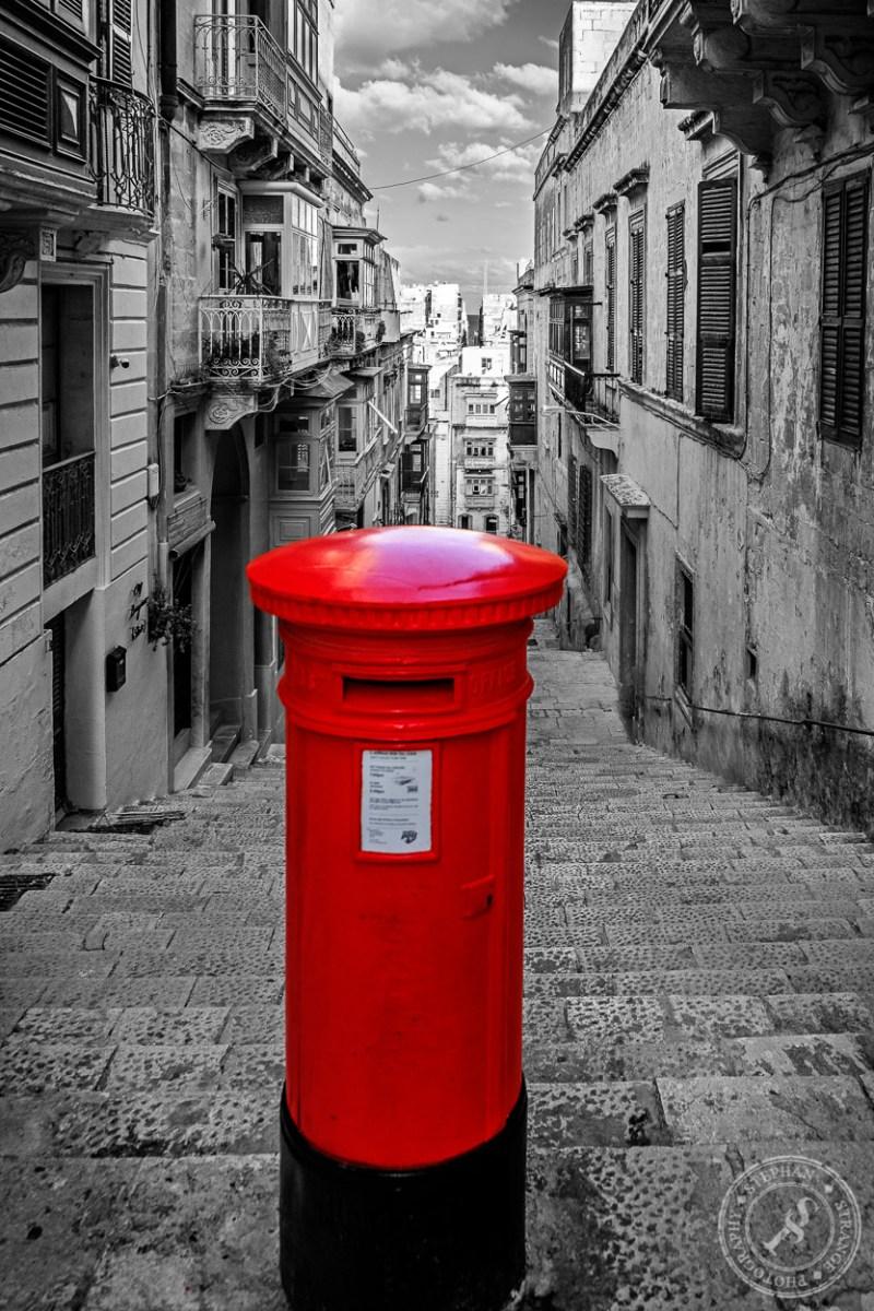 Postbox Valletta Colorkey