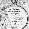 Old Halloween Games from 1912
