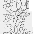 Grape Vine Embroidery Designs From 1907