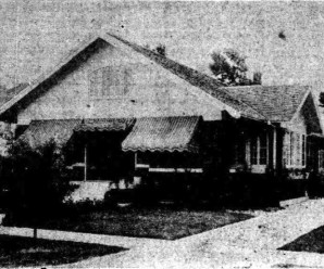 Two Bedroom Ranch House Plans From 1921