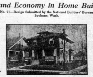 Three Bedroom Two Story House Plans From 1920