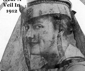 How To Wear A Veil In 1912