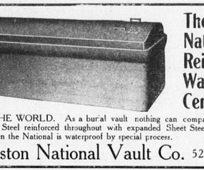 Ghoul Proof Coffin Ad