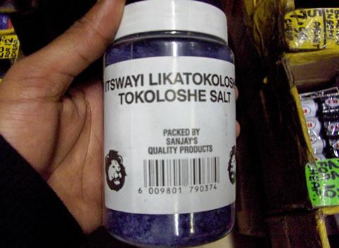 Tokoloshe-Salt