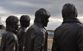 Beatles Statue in Liverpool, England