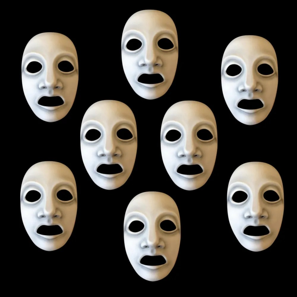 Greek Chorus Mask Set