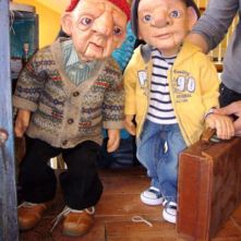 Bob and Eddy puppets