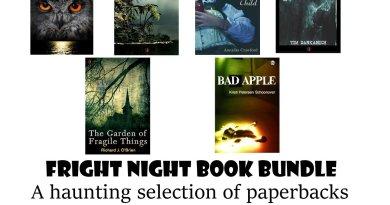 Horror novel giveaway contest