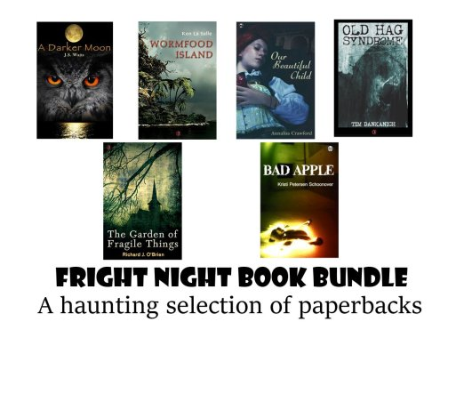 Win free horror novel paperbacks