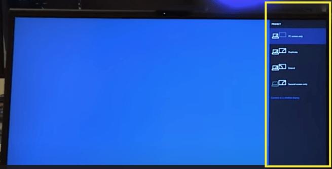 Laptop Screen as Monitor