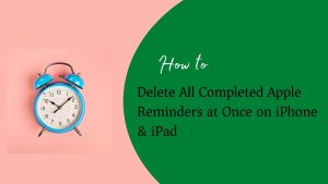 Apple Reminder