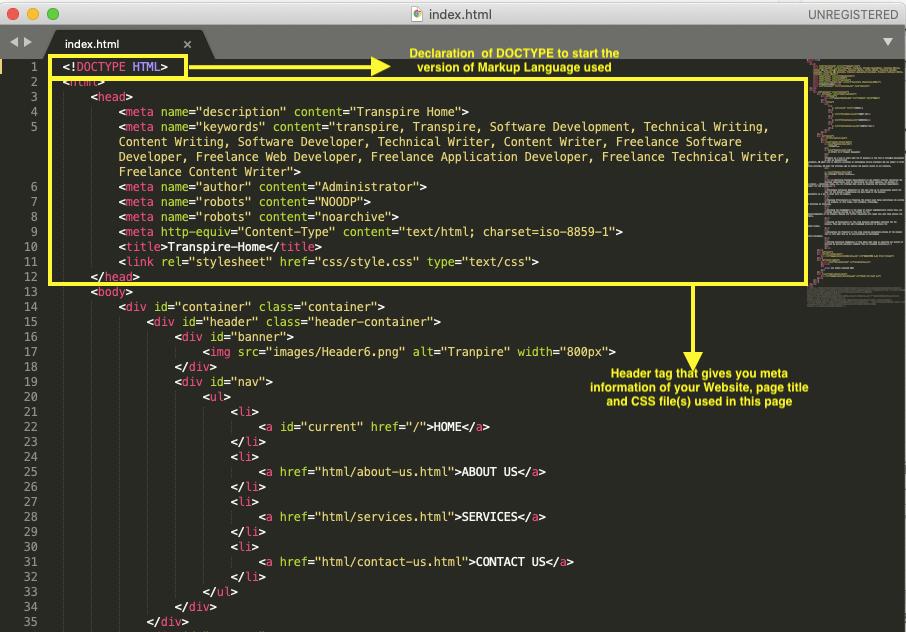 html doc type