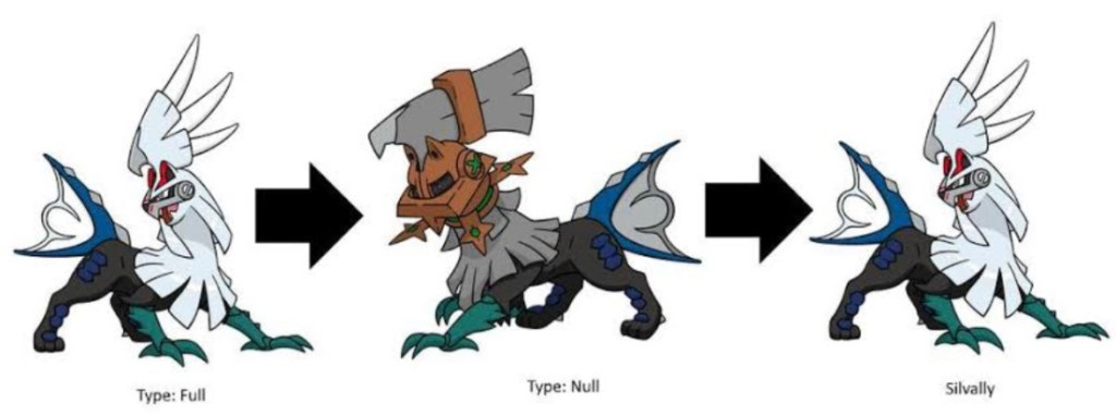 Evolve Type: Null To Silvally
