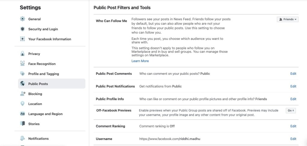Public filters