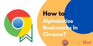 Alphabetize Bookmarks In Chrome