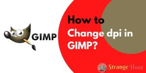 How to Change dpi in GIMP