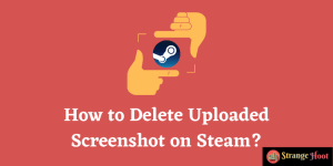 How to Delete Uploaded Screenshot on Steam