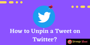 How to Unpin a Tweet on Twitter