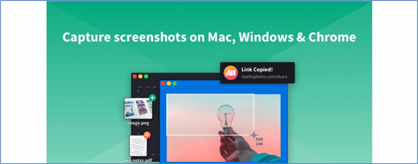 Markup hero screen recording software
