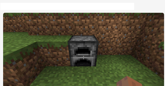 Furnace by standing in front of it
