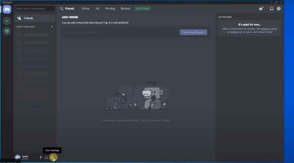 start discord desktop application