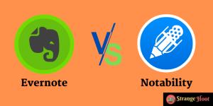 Evernote vs notability