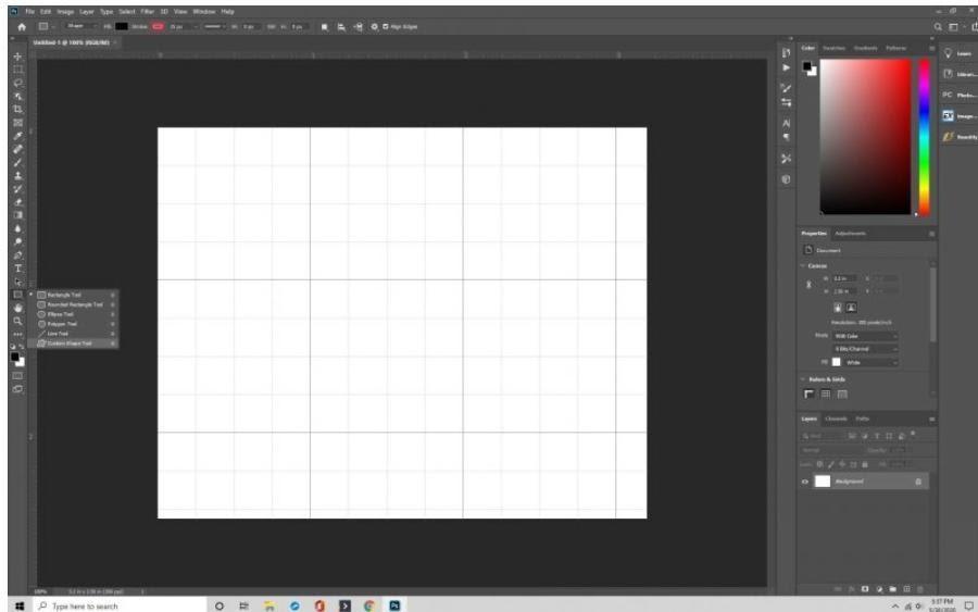 Make shape in Grid