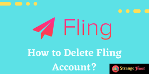 How to Delete Fling Account