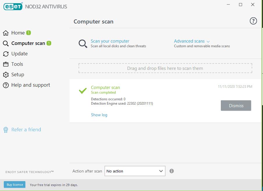 ESET node32 antivirus