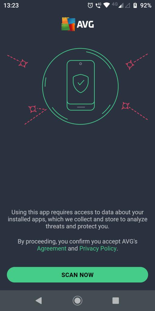 AVG Antivirus App