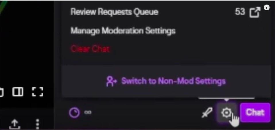 non-mod settings