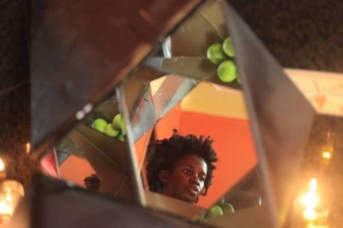 Still from Dilman Dila's film Her Broken Shadow