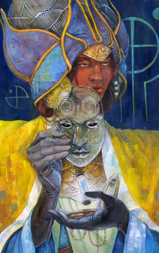 "© 2015 Jabari Weathers, ""The First Grand Face"""